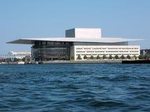 Teatro da ópera de Copenhaga, Dinamarca Imagens de Stock Royalty Free