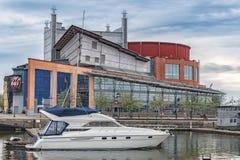 Teatro da ópera de Gothenburg Imagem de Stock