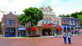 Teatro da ópera de Hong Kong Disneylândia fotografia de stock