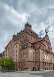 Teatro da ópera de Nuremberg, Alemanha Fotos de Stock Royalty Free