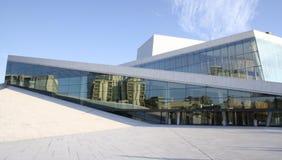 Teatro da ópera de Oslo Imagens de Stock Royalty Free