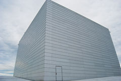 Teatro da ópera de Oslo Fotografia de Stock