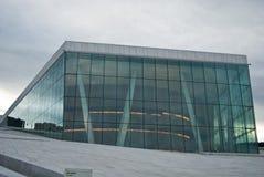 Teatro da ópera de Oslo Foto de Stock