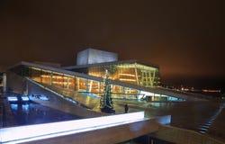 Teatro da ópera de Oslo imagens de stock