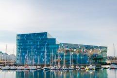 Teatro da ópera de Reykjavik Foto de Stock