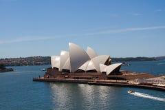 Teatro da ópera de Sidney Fotografia de Stock Royalty Free