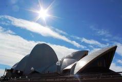 Teatro da ópera de Sidney Imagens de Stock