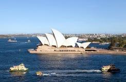 Teatro da ópera de Sydney Imagem de Stock Royalty Free