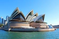 Teatro da ópera de Sydney Fotografia de Stock