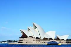 Teatro da ópera de Sydney foto de stock