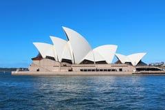 Teatro da ópera de Sydney Fotos de Stock Royalty Free