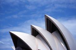 Teatro da ópera de Sydney Imagens de Stock Royalty Free