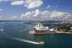 Teatro da ópera de Sydney - Austrália Fotografia de Stock