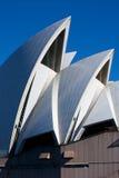 Teatro da ópera de Sydney em Sydney, Austrália. Imagem de Stock Royalty Free