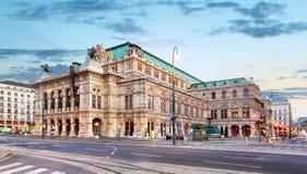 Teatro da ópera de Viena, Áustria foto de stock royalty free