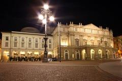 Teatro da ópera do La Scala Fotografia de Stock Royalty Free