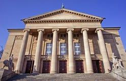 Teatro da ópera em Poznan foto de stock