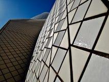 Teatro da ópera em Sydney, fim perto fotos de stock