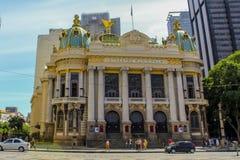 Teatro da ópera Teatro municipal em Rio de janeiro, Brasil, América Latina fotos de stock