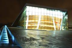 Teatro da ópera, Oslo (Noruega) Fotografia de Stock