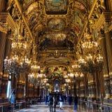 Teatro da ópera parisiense Imagem de Stock Royalty Free