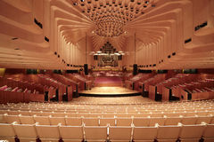 Teatro da ópera Sydney Foto de Stock Royalty Free
