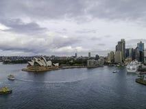 Teatro da ópera, Sydney, Austrália Fotos de Stock Royalty Free