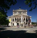 Teatro da ópera velho de Francoforte fotos de stock royalty free