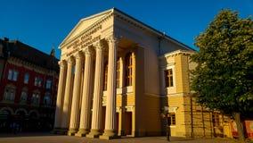 Teatro da cidade Foto de Stock Royalty Free