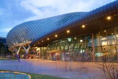 Teatro da esplanada na baía em Singapura Fotos de Stock