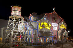 Teatro da mostra do jantar de Hatfield & de McCoy em Pigeon Forge, Tennessee Fotos de Stock