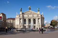 Teatro da ópera Imagens de Stock Royalty Free