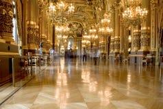 Teatro da ópera de Paris Imagem de Stock