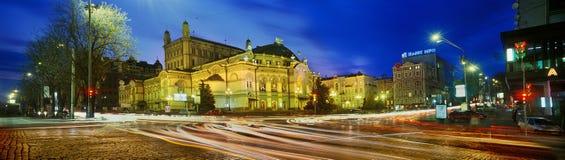 Teatro da ópera nacional Imagem de Stock