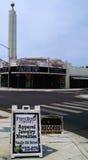 Teatro da torre no distrito da torre, Fresno Imagens de Stock Royalty Free