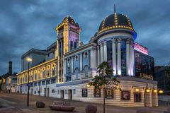 Teatro de Alambra em Bradford foto de stock
