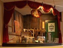 Teatro de antaño Foto de archivo libre de regalías