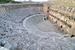Teatro de Aspendos foto de archivo libre de regalías