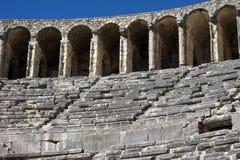 Teatro de Aspendos, Antalya. Imagen de archivo libre de regalías