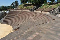 Teatro de Augusta Raurica Roman Imagem de Stock