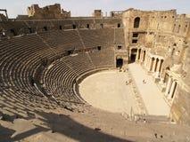 Teatro de Bosra Fotografía de archivo libre de regalías