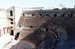 Teatro de Bosra imágenes de archivo libres de regalías