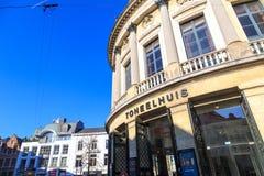 Teatro de Bourla em Antuérpia imagens de stock royalty free