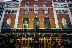 Teatro de Broadway fotografia de stock