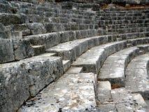 Teatro de Butrint Imagens de Stock
