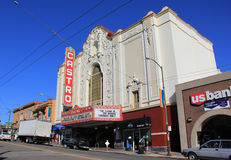 Teatro de Castro Fotografia de Stock Royalty Free