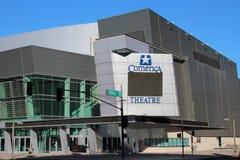 Teatro de Comerica foto de archivo