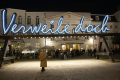 Teatro de Deutsches Imagem de Stock