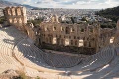 Teatro de Dionysus imagen de archivo