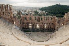 Teatro de Dionysus fotos de archivo libres de regalías
